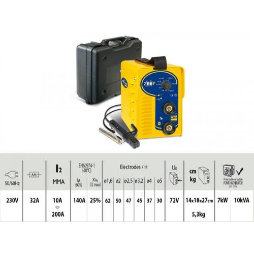 Suvirinimo aparatas Gysmi 200P GYS