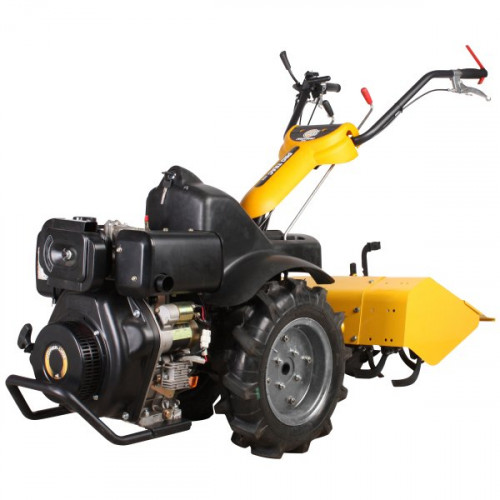 Motoblokas Texas Pro Trac 950DE bazė + kultivatorius
