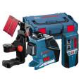 Linijinis lazerinis nivelyras Bosch GLL 3-80 P Professional + universalus laikiklis BM 1 + Imtuvas LR2