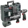 Suktuvas - gręžtuvas Metabo PowerMaxx Basic + 63 priedai