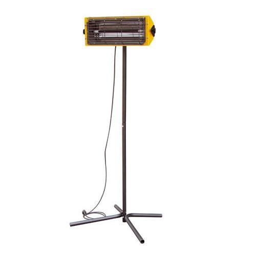 Elektrinis infraraudonųjų spindulių šildytuvas MASTER HALL 1500 I su stovu