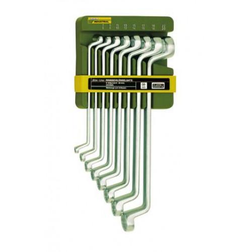 Kilpinių raktų komplektas 6-22 mm (8 raktai)