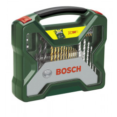 Bosch Promoline 50 dalių priedų rinkinys TITANIUM