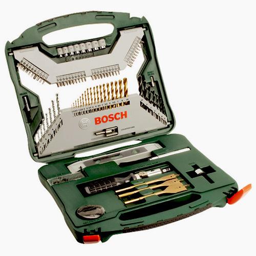 Bosch Promoline 100 dalių priedų rinkinys TITANIUM