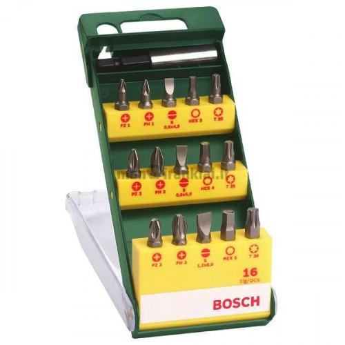 Bosch Promoline antgalių komplektas (16 vnt.)