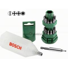 Atsuktuvo antgalių (bitų) komplektas Bosch 25 vnt.