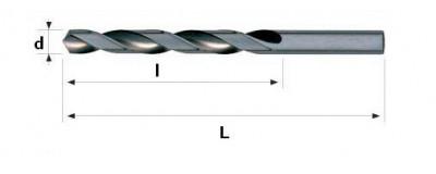Grąžtai metalui HSS DIN 338