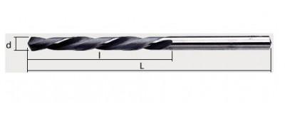 Grąžtai metalui HSS kairiniai DIN 338 LN