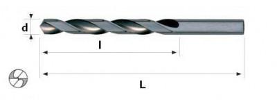 Grąžtai metalui HSSCo DIN 338