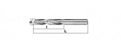 Kietlydinio grąžtai metalui K10 DIN 6539