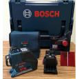 Linijinis lazerinis nivelyras Bosch GLL 3-80 P Professional + universalus laikiklis BM 1