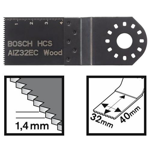 Įpjaunamasis pjūklelis medienai Bosch AIZ 32 EC