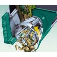 Tyliai veikiantis šakų smulkintuvas Bosch AXT 25 TC