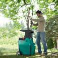 Tyliai veikiantis šakų smulkintuvas Bosch AXT 22 D