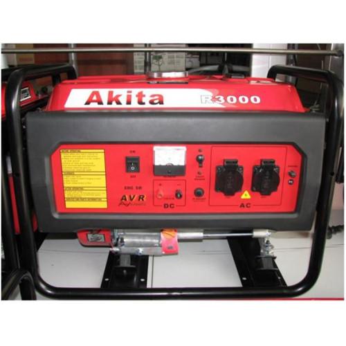 Generatorius Akita R3000 (3kW, vienfazis)