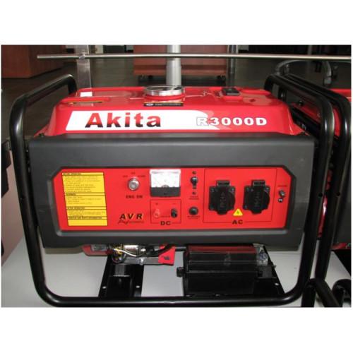 Generatorius Akita R3000D (3kW, vienfazis)