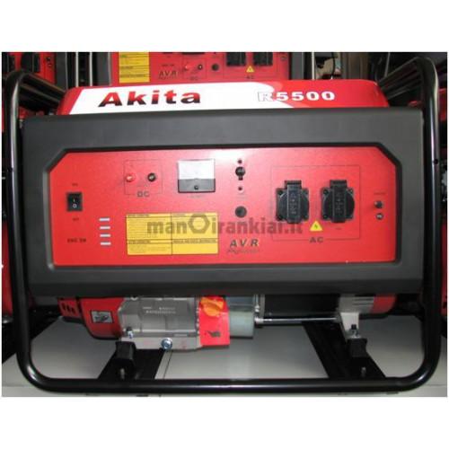 Generatorius Akita R5500 (5,5kW, vienfazis)