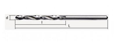 Prailginti grąžtai metalui HSS DIN 340