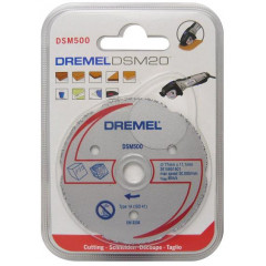 DREMEL DSM500 daugiafunkcis karbido pjovimo diskas DSM20 įrankiui