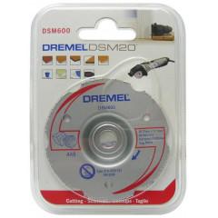 DREMEL DSM600 daugiafunkcinis karbido plokštuminio pjovimo diskas DSM20 įrankiui