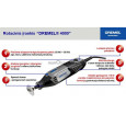 Dremel 4000 serijos rotacinis įrankis DIGITAL + 45 priedai (4000-1/45)