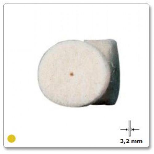 Iš veltinio pagamintas poliravimo diskas Dremel  (414), 6 vnt.
