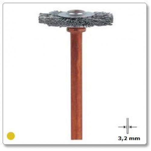 Nerūdijančio plieno šepetys Dremel (530)