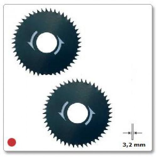 Įpjovų / skersinio pjovimo diskas medienai 31,8 mm Dremel (546), 2 vnt.