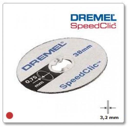DREMEL SpeedClic  ploni pjovimo diskai (SC409), 5 vnt.