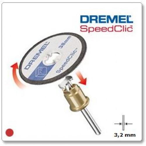 DREMEL SpeedClic  plastmasės pjovimo diskai (SC476), 5 vnt.