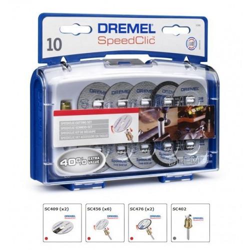 DREMEL® SpeedClic® priedų rinkinys (SC690)