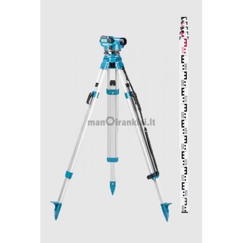 Optinis nivelyras Geofennel ELN 24 + stovas + liniuotė