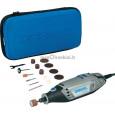 Elektrinis rotacinis įrankis Dremel 3000 + 15 priedų (3000-1/15)