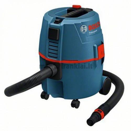 Universalusis sausų dulkių ir skysčių siurblys BOSCH GAS 20 L Professional