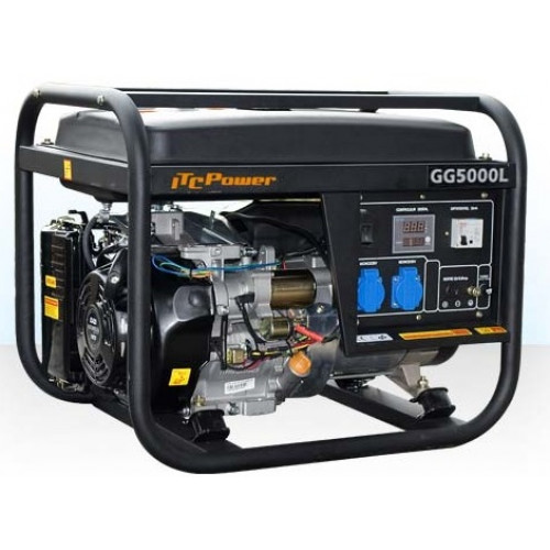 Benzininis generatorius ITC Power GG5000L