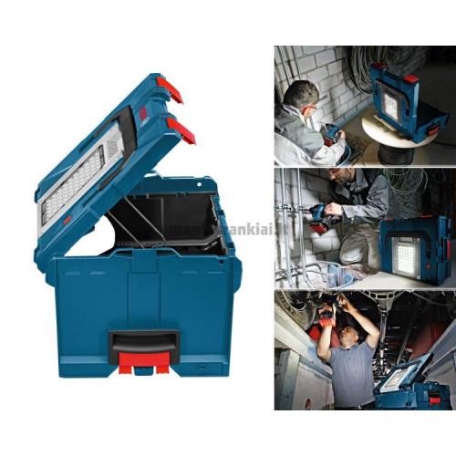 Lagaminas Bosch GLI PortaLED 238 Professional