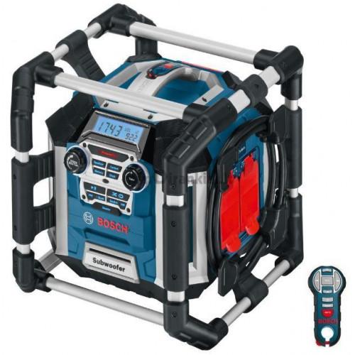 Kroviklis-radijas Bosch GML 50 Professional su nuotolinio valdymo pulteliu
