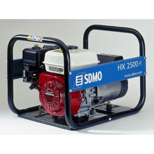 Generatorius SDMO HX 2500  (2,2 kW, vienfazis)