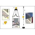 Automatinio niveliavimo linijų lazeris Stabila LAX 50 su stovu