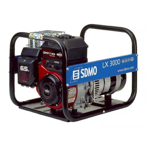 Generatorius SDMO HX 3000 C  (3 kW, vienfazis)