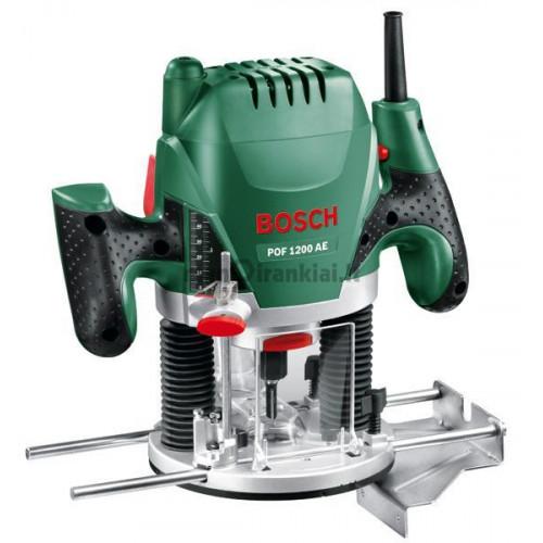 Vertikalus frezeris Bosch POF 1200 AE