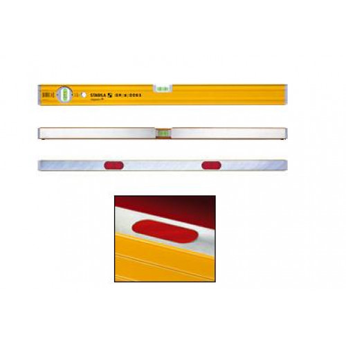 Gulsčiukas su magnetu Stabila 80AM/80 cm