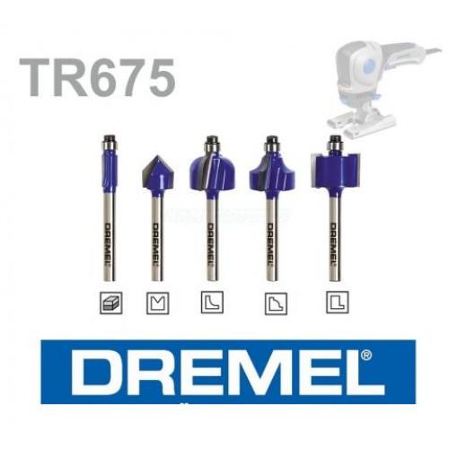 """DREMEL® TRIO-""""¢ frezavimo antgalių rinkinys (TR675)"""