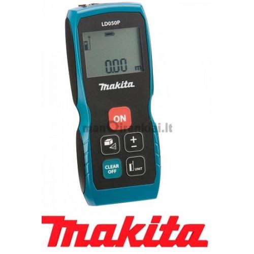 Lazerinis atstumo matuoklis Makita LD050P