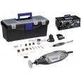 Elektrinis rotacinis įrankis Dremel 3000 + 55 priedai (3000-3/55) SILVER (IŠPARDUOTA)