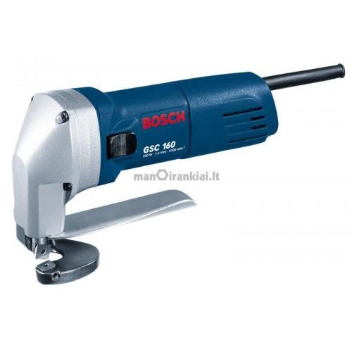 Kerpančios žirklės BOSCH GSC 160 Professional