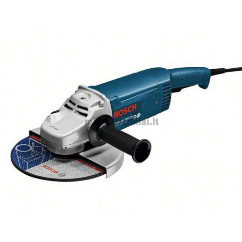 Kampinio šlifavimo mašina BOSCH GWS 20-230 JH Professional