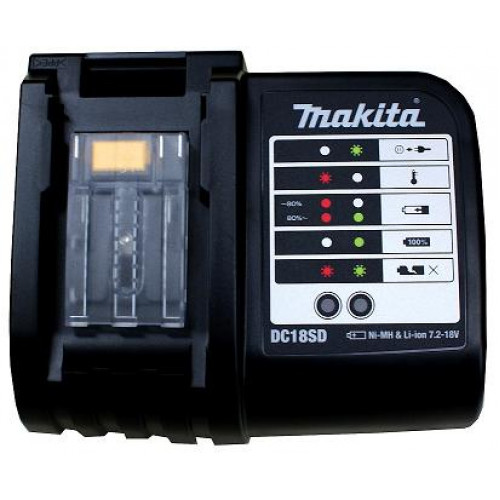 Akumuliatorių įkroviklis Makita DC18SD