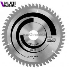 Universalus pjovimo diskas Multi Material 190 mm, 54 dantų