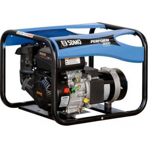 Generatorius SDMO PERFORM 3000  (3 kW, vienfazis) - 3 metų garantija varikliui!